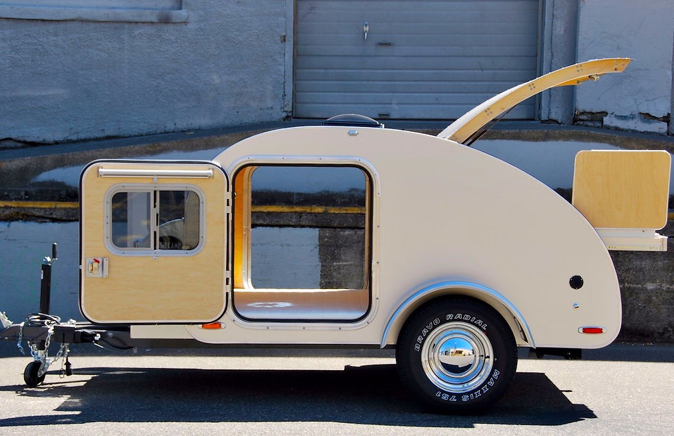 Bumble Bee Tear Drop Camper