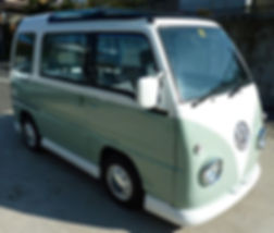 Volkswagen mini mobile bar bus