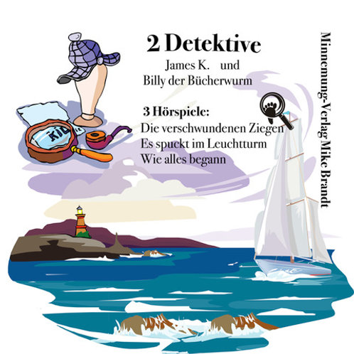 2 Detektive - James K. und Billy B.