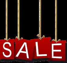 Wakacje Sale Sign
