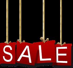 Férias sinal da venda