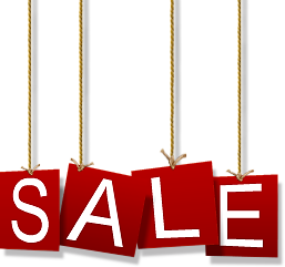 Vacanze Sale Sign