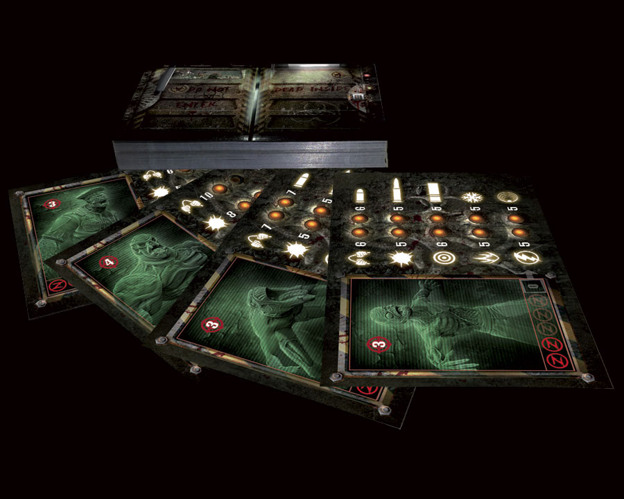 Z First Impact - Cartes Zombies
