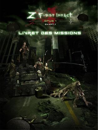 Z First Impact - Livret missions