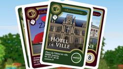 """Cartes à jouer """"Escale à Amiens"""""""