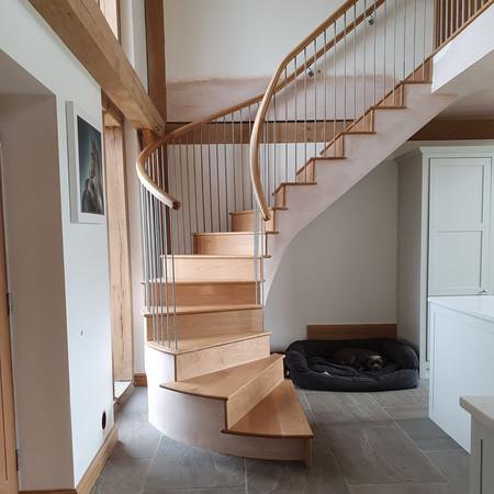 RESIDENTIAL: Bespoke Staircase