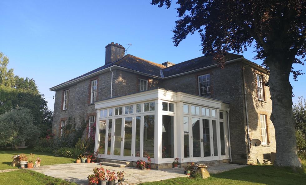 Upton Farmhouse orangery