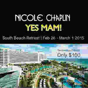 NICOLE CHAPLIN - 100 Deposit