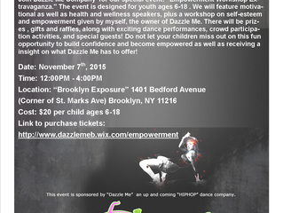 EMPOWERMENT BY DAZZLE ME !!!