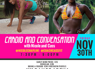 Cardio and Conversations Workout!