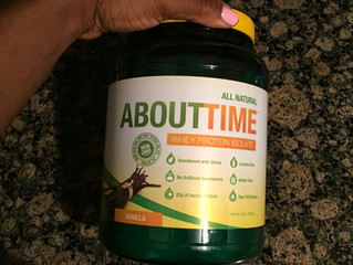 PROTEIN POWER - TRY ABOUT TIME