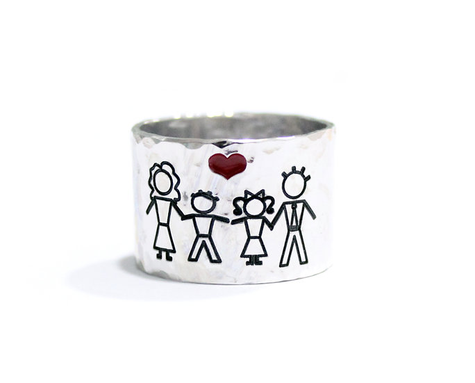 "Kit anelli ""FAMILY""  Cod. KFA01"