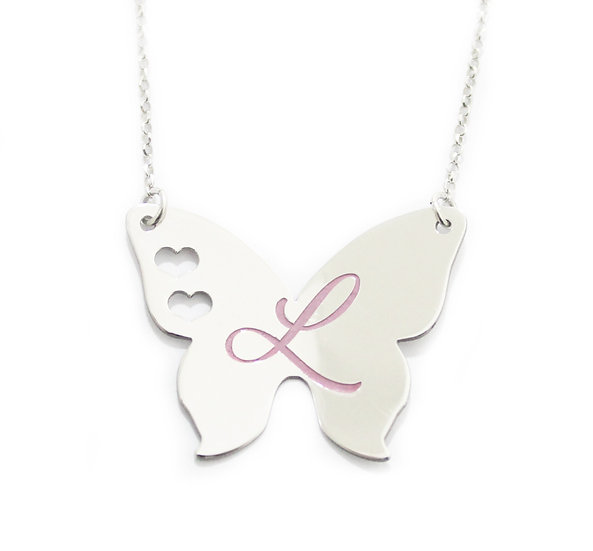 Farfalla in argento