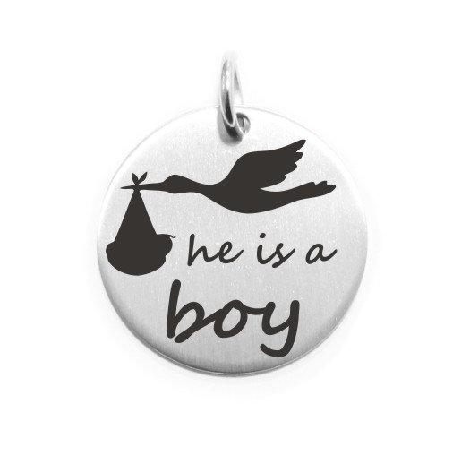 He is a boy