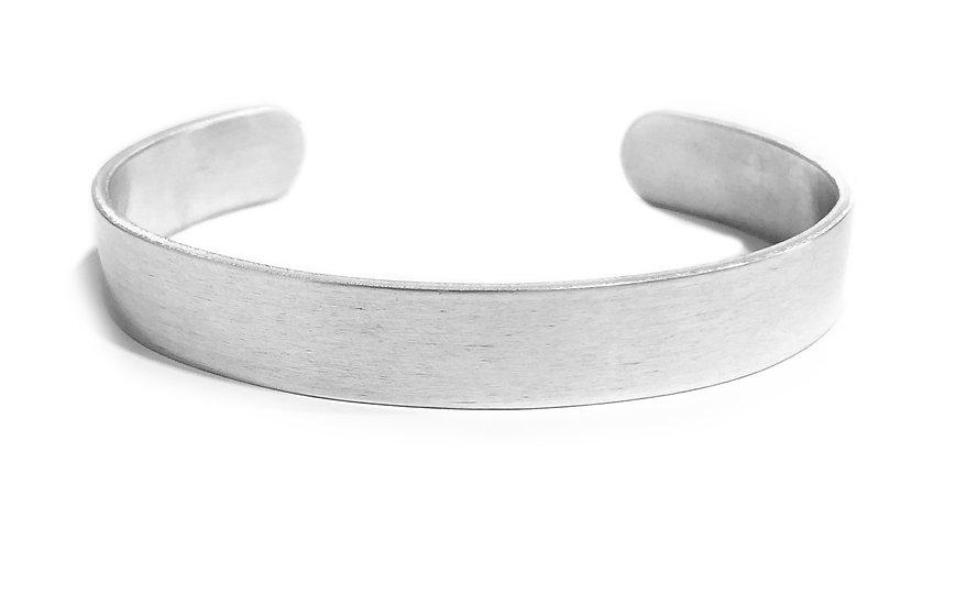 Bracciale rigido in alluminio