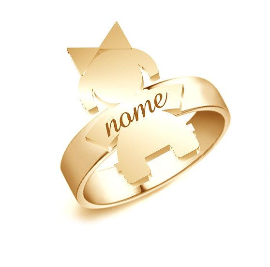 Anello Bebè Gold