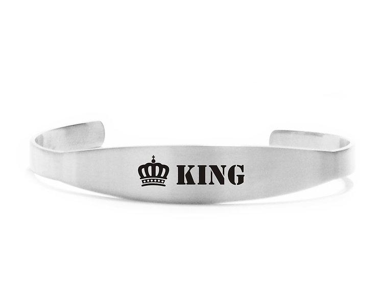 Bracciale  rigido King