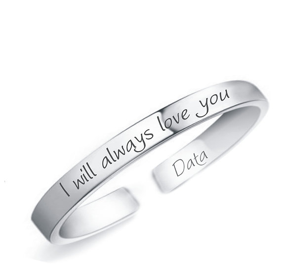 Bracciale I WILL ALWAYS