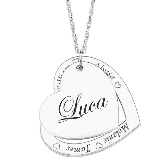 Collana Heart Names