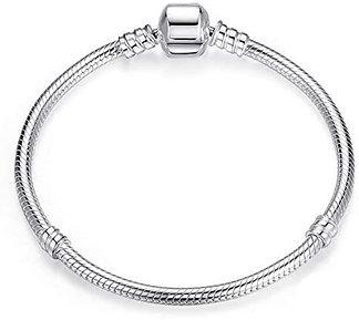 Bracciale per charm in argento 925