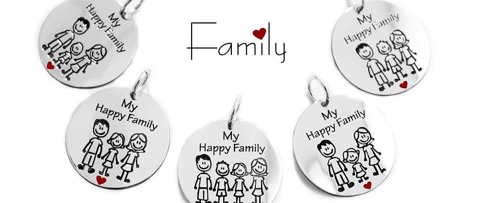 """Kit Monete """"FAMILY""""  Cod. KMF01"""