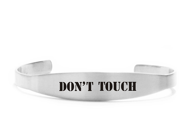 Bracciale  rigido don't touch