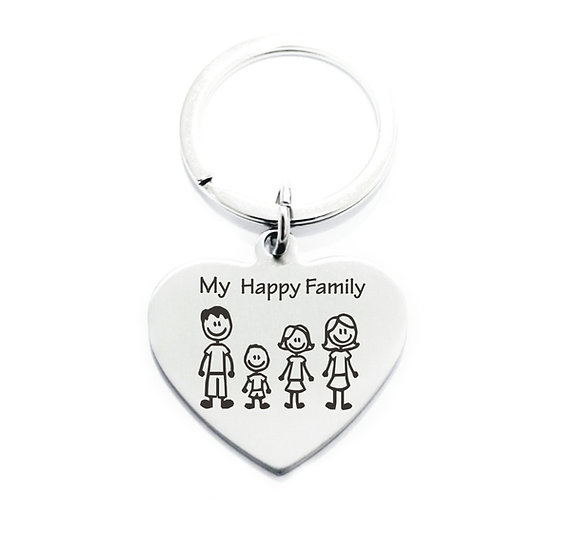 Portachiavi Family
