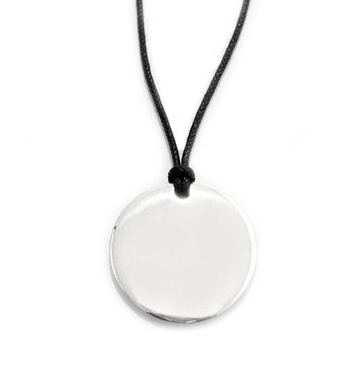 Collana Moneta in argento