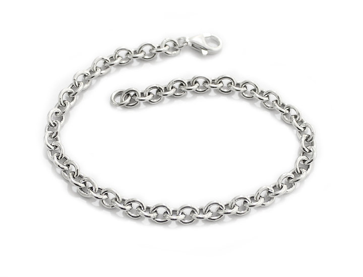 Bracciale a catena in argento 925