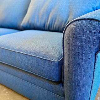 Blue Stain Resistant Sofa