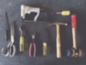 Essential tools of the upholstery trade