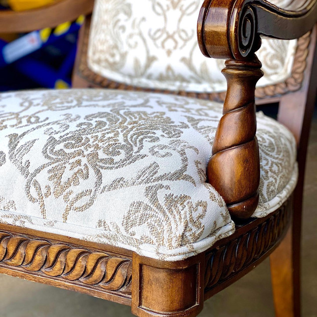 Elegant, Soft, And Stain Resistant Chair
