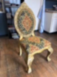 Newly Upholstered Side Chair