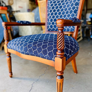 Midnight Blue Chair