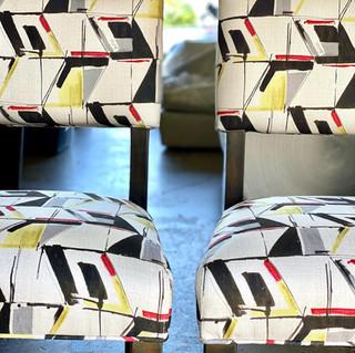 Geometric Dining Chairs