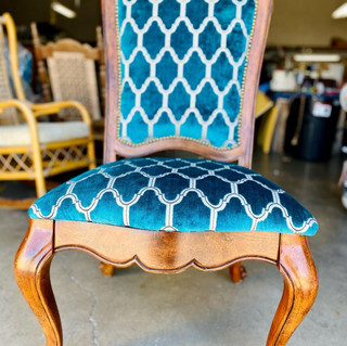 Teal Dining Chair