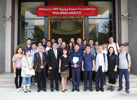 「韓國言論振興財團」媒體記者團參訪智順科技