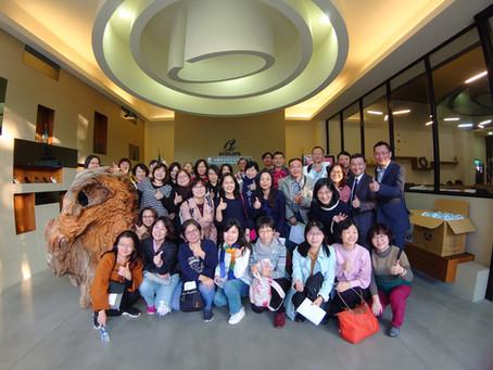 臺中科技大學參訪智順科技,促進產學合作!