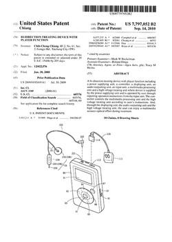 US Patent - 2