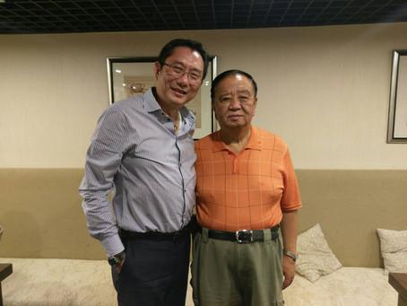 智順江志成董事長 訪問世界針聯總部