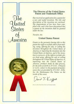 US Patent - 1