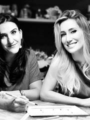 Ana Paula Munhoz e Gabriella Saback