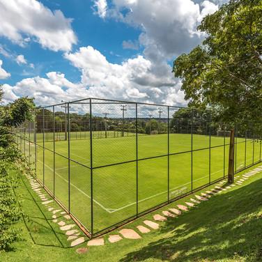 Campos de futebol society (grama natural)