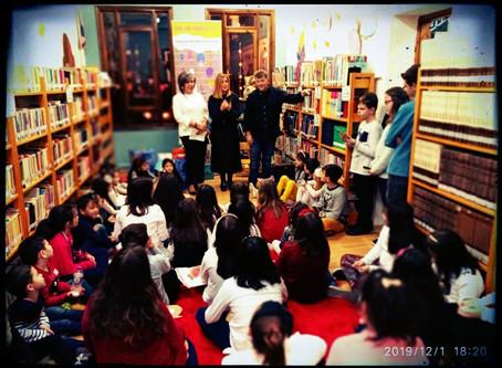 Μια ολόκληρη μέρα στη χαριστική Δημοτική  Βιβλιοθήκη Πτολεμαΐδας  μαζί με τα παιδιά, ήταν μια εξαιρε