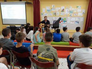 Με τη Σιλουανή στο 26ο και 29ο Δημοτικό Σχολείο Αχαρνών