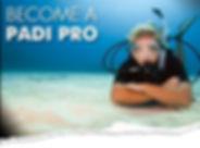PADI professional courses price