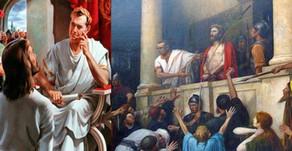 Τι θα γινόταν εάν... ...…ο Πόντιος Πιλάτος είχε δώσει χάρη στον Ιησού;