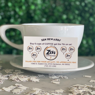 try our zen rewards cards!