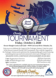 Tuskegee Airmen Golf Tournament Flyer_Re