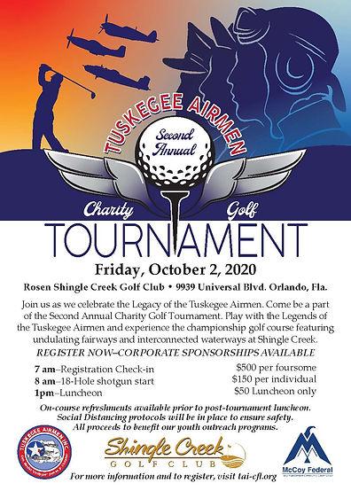 Tuskegee Airmen Golf Tournament Flyer_Re